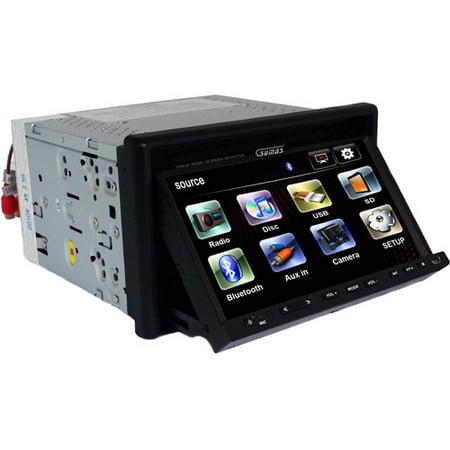 Sumas Media 7  Double Din Car Movie Player With Bt