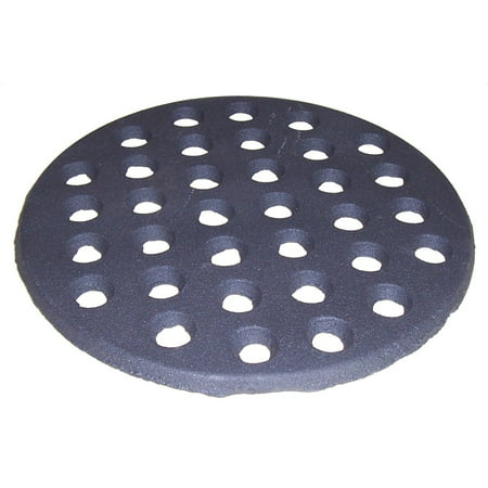 - Cast Iron Heat Plate Replacement for Gas Grill Model Big Green Egg large