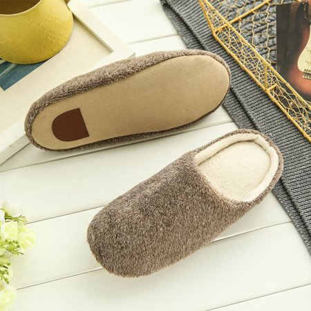SNHENODA Womens Winter Warm Slippers Women Slippers Cotton Sheep Lovers Home Slippers Indoor Plush Size House Shoes
