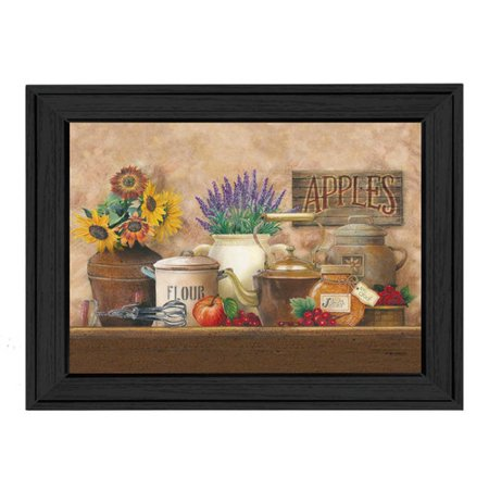 - Trendy Decor 4U Antique Kitchen by Ed Wargo Framed Painting Print