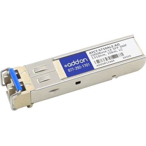 Addon Avago Afct-5710alz Compatible Taa Compliant 1000base-lx Sfp Transceiver (smf, 1310nm, 10km, L - image 1 of 1
