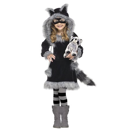 Toddler Sweet Racoon Costume by FunWorld 121711