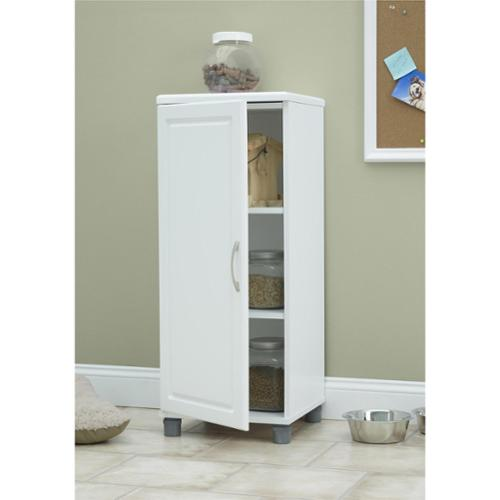 Altra SystemBuild White Kendall 16 inch Stackable Storage Cabinet