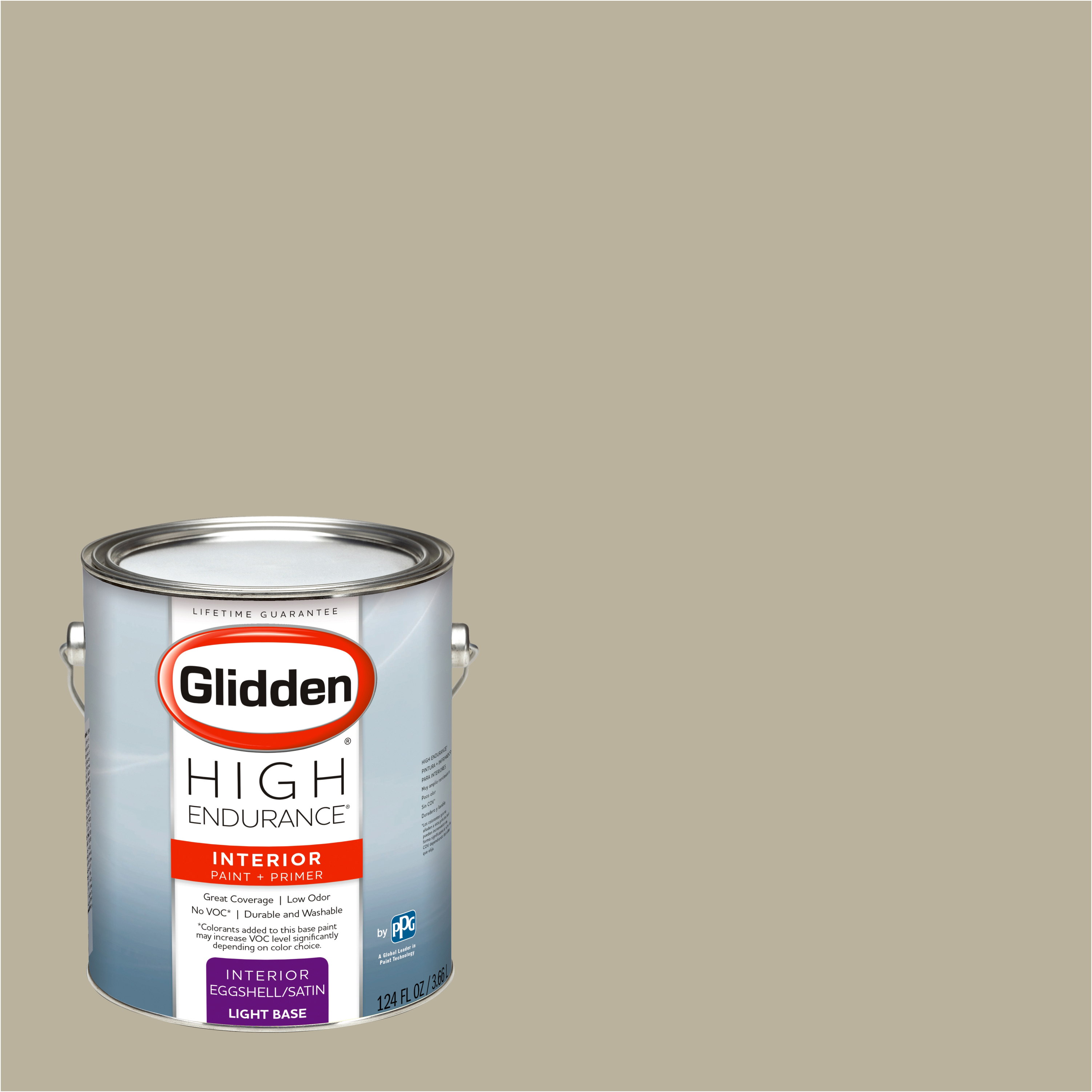 Glidden High Endurance, Interior Paint and Primer, Storybook Straw, # 45YY 44/115