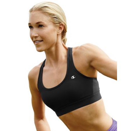Women's Double Dry� Absolute Workout II Sports Bra, Black - (Xs Spa)