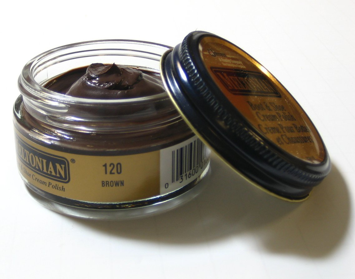 Meltonian Boot Cream Polish Brown