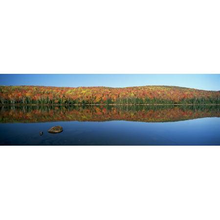 Lac Bouchard La Mauricie National Park Quebec Posterprint