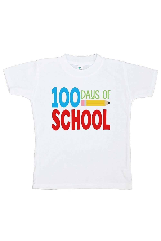 Custom Party Shop Kids 100 Days of School T-shirt - Medium / 10-12