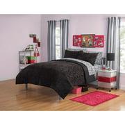Your Zone Mink Zebra Bedding Comforter Set, 1 Each