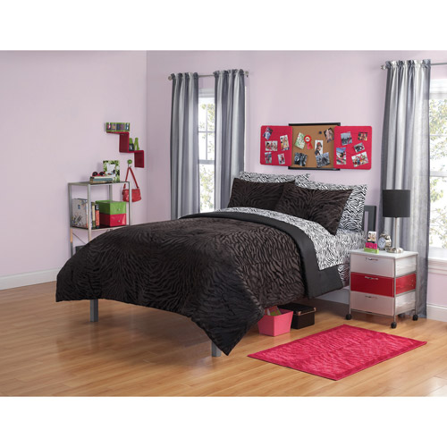 your zone mink zebra bedding comforter set