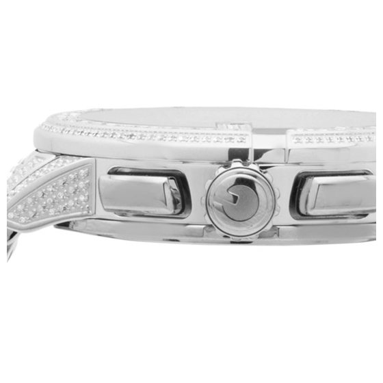 ec2fea156c5 Gucci - Mens G-Chrono 44 MM Diamond Watch YA101201 10.0 Ct - Walmart.com