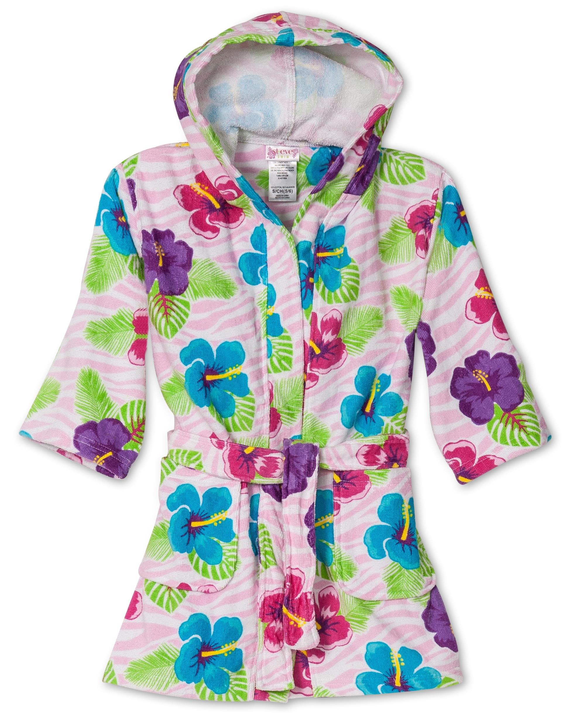 St. Eve Girls Beach Cover-Up, Pink Flamingo, Size: Large / 10-12