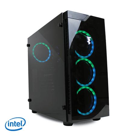 ViprTech Gaming PC Desktop Computer - Intel i7-2600k, NVIDIA GTX 1060 3GB, 8GB RAM, 1TB, VR Ready, WiFi, RGB