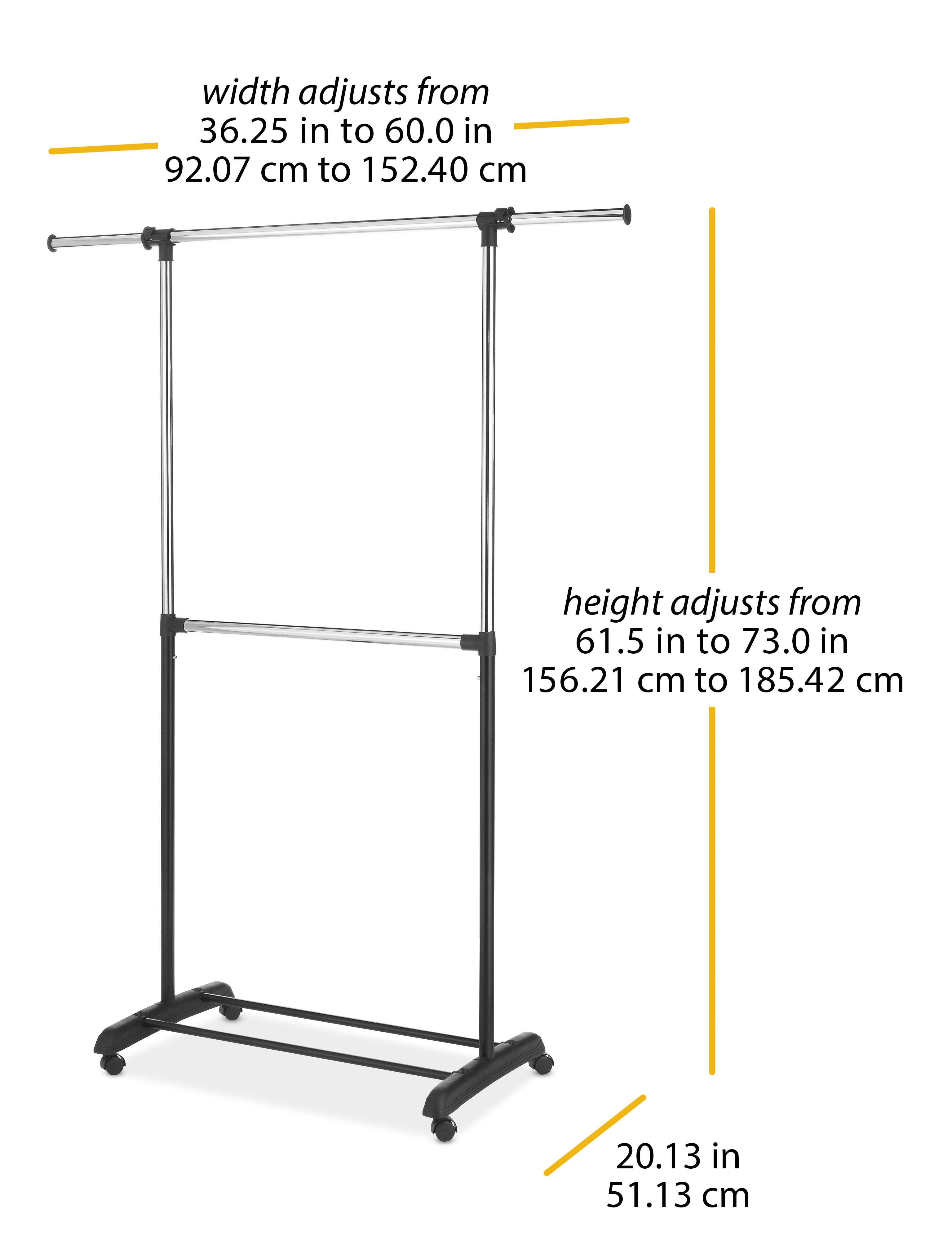 Clothing Closet Storage Whitmor 6021 3081 Bb Adjustable