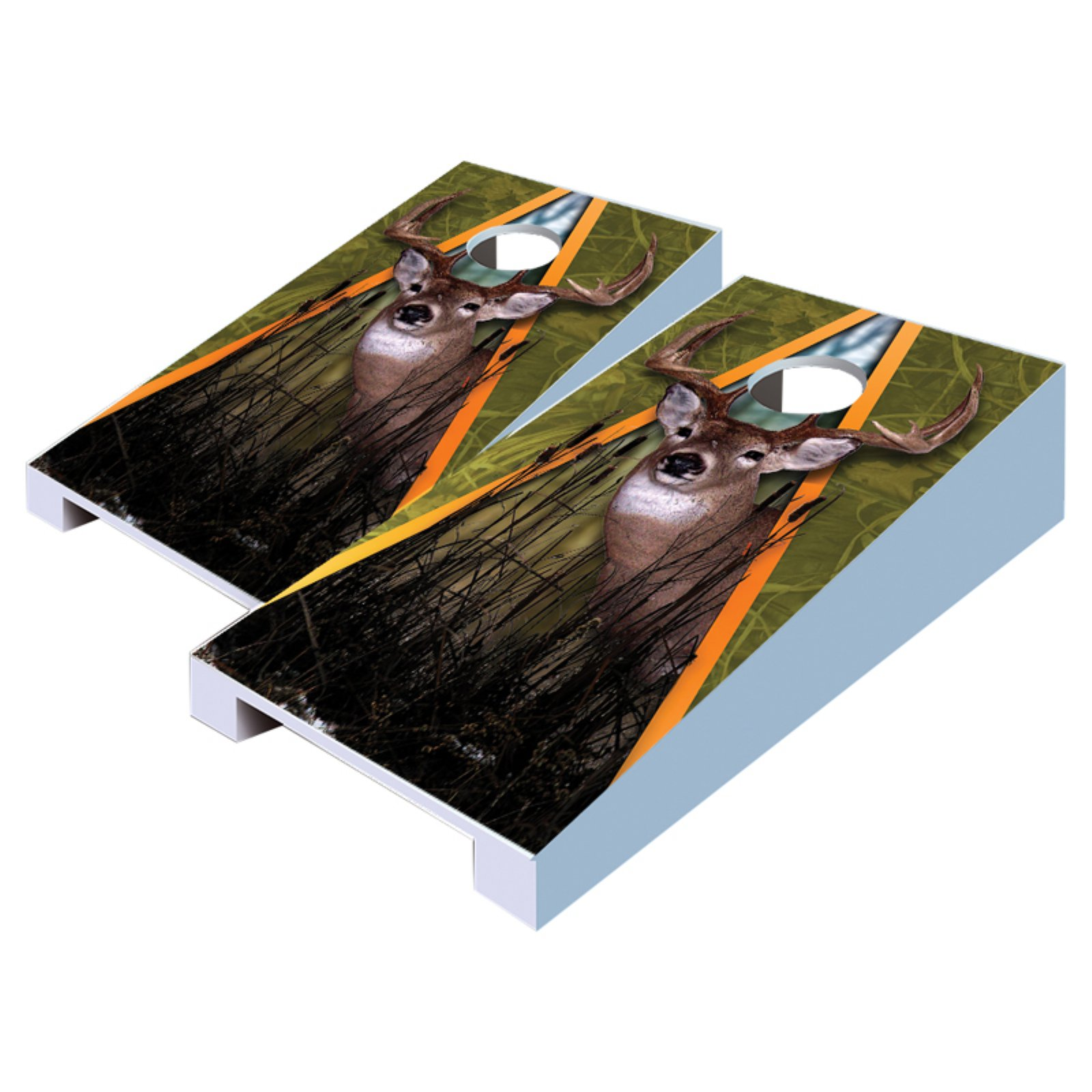 Deer Tabletop Cornhole Set by AJJ Cornhole