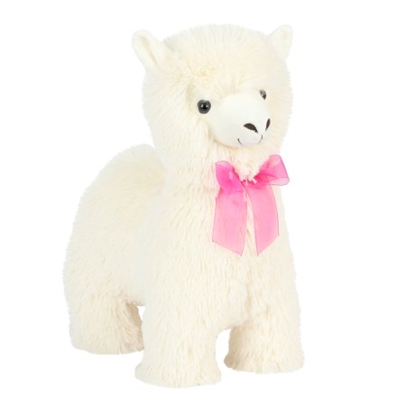 Way to Celebrate 18 inch Standing White Llama Plush