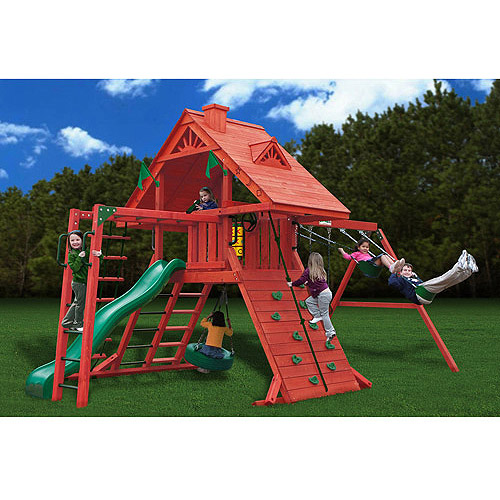 Gorilla Playsets Sun Palace II Cedar Swing Set by Gorilla Playsets