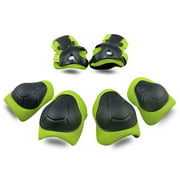 Kids Protective Gear Set Knee Pads for Kids 2-8 Years Toddler Knee and Elbow Pads with Wrist Guards 3 in 1 for Skating Cycling Bike Rollerblading Scooter