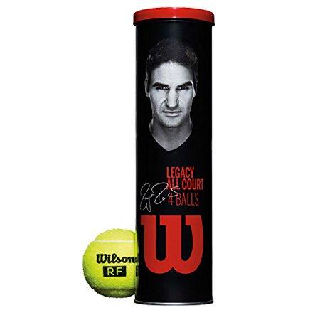 Wilson - WRT11990M - Roger Federer RF Legacy All Court Tennis - 4 Balls per Can