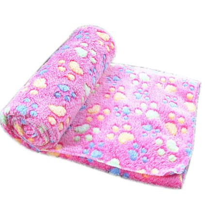 Covers Puppy (Soft Warm Pet Fleece Blanket Bed Mat Pad Cover Cushion For Dog Cat Puppy)