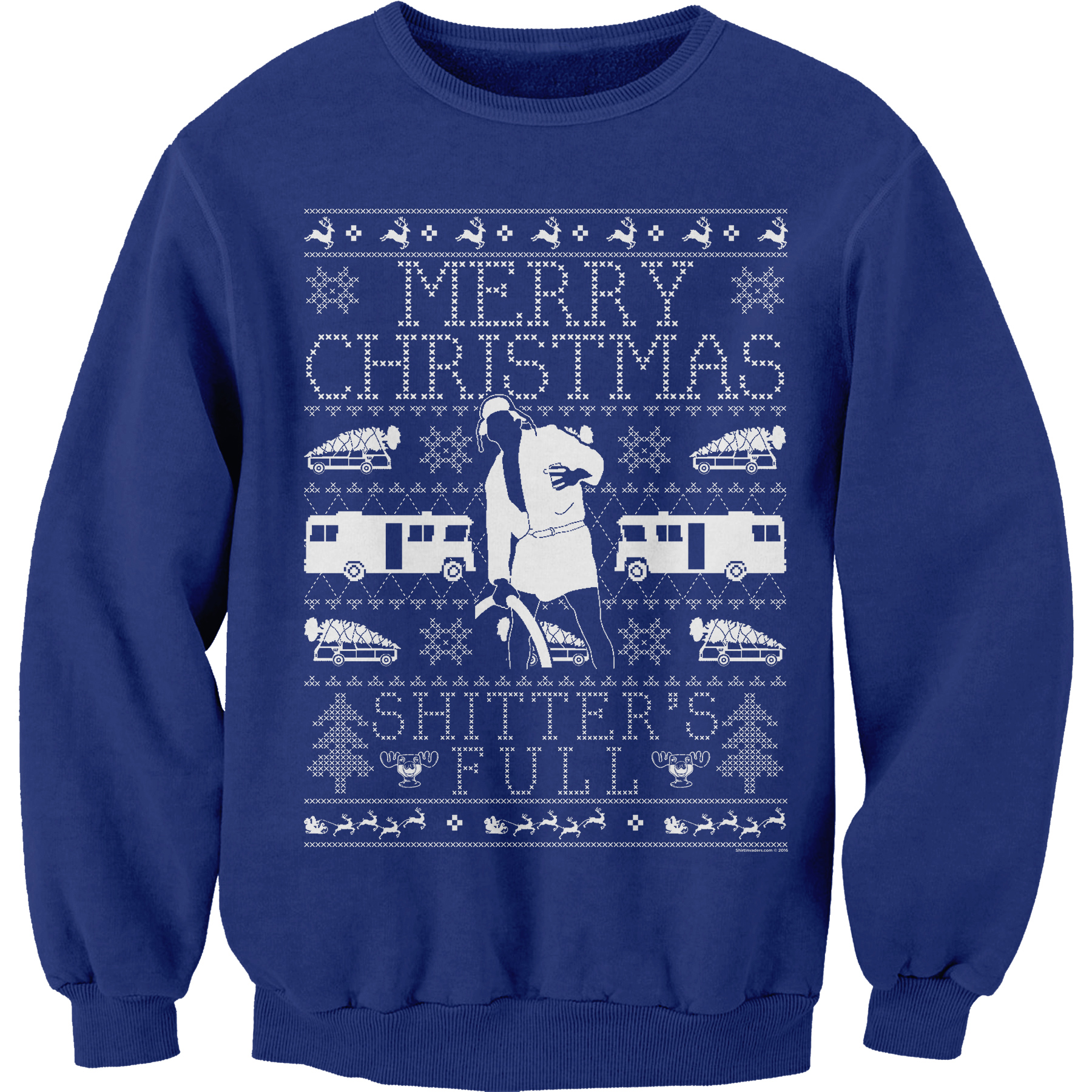 Shirtinvaders Merry Christmas Shitter Was Full Cousin Eddie