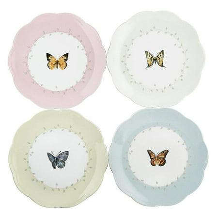 Lenox Butterfly Meadow Dessert Plate - Set of 4](Butterfly Plates)