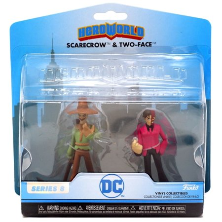 - Funko DC Series 8 Scarecrow & Two-Face Vinyl Figure 5-Pack