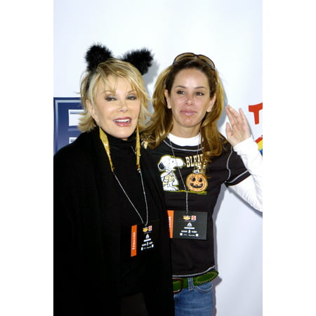 October 30 Halloween Eve (Joan Rivers And Melissa Rivers At The Children Affected With Aids Halloween Party Santa Monica Ca October 30 2004)