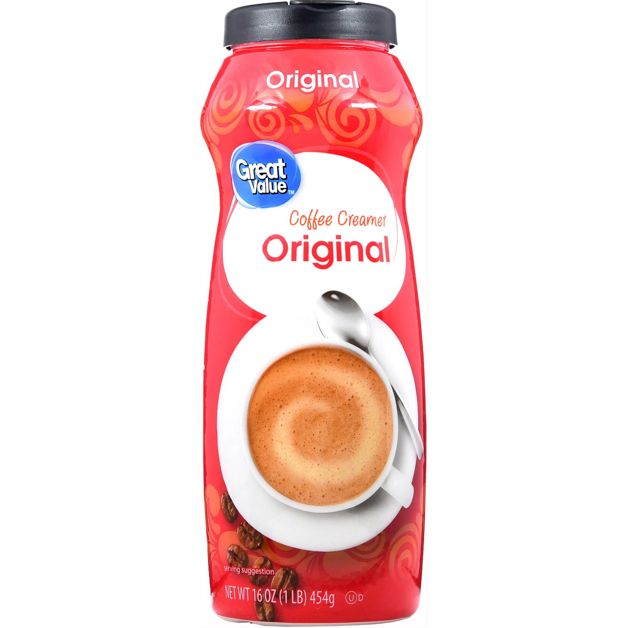 (3 Pack) Great Value Coffee Creamer, Original, 16 fl oz