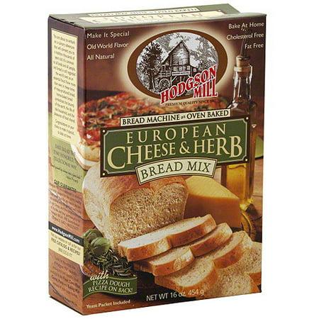 Hodgson Mill European Cheese   Herb Bread Mix  16 Oz  Pack Of 6