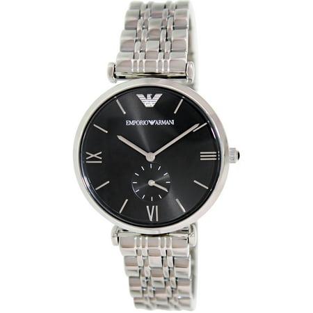 Emporio Armani Men's AR1676 Retro Silver Watch (Emporio Watch)