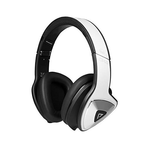 Monster DNA Pro 2.0 Noise Isolating Over-Ear Headphones - White Tuxedo 2.0