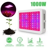 TOPINCN AC85-265V Full Spectrum 100 LED Plant Grow Light Hydroponics Vegs Flowering Panel Lamp,Led Grow Lamp,Plant Grow Light