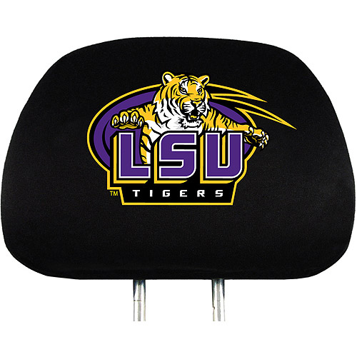 LSU NCAA Head Rest Cover