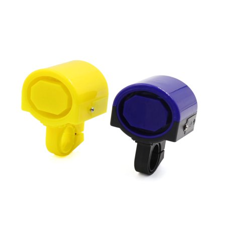 - 2pcs Two Colors Combination Battery Operated Warning Electronic Bell for Bicycle