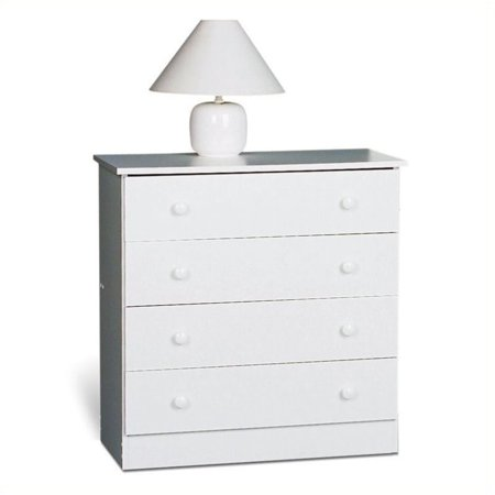 Hawthorne Collections 4 Drawer Chest in White