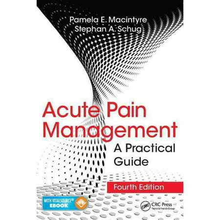 Acute Pain Management  A Practical Guide