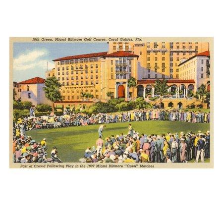 Biltmore Golf Course, Coral Gables, Florida Print Wall