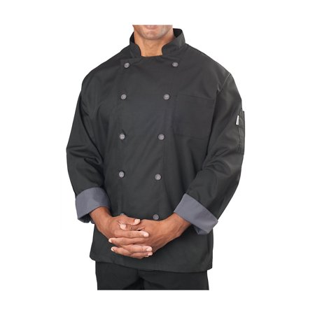 Men's Long Sleeve Active Chef Coat (Chefs Coat)