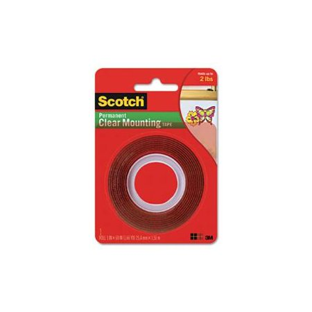 Double Sided Mounting Tape Industrial Strength 1 X 60 Clearred