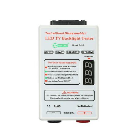 Smart-Fit LED Lamp LCD TV Backlight Tester for All LED Lights Output High  Brightness 0-320V GJ2C