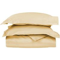 Impressions Arlington Egyptian Cotton Solid Duvet Cover Set