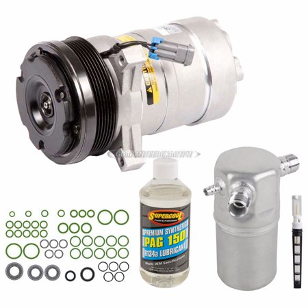 AC Compressor w/ A/C Repair Kit For Cadillac DeVille 1994 1995