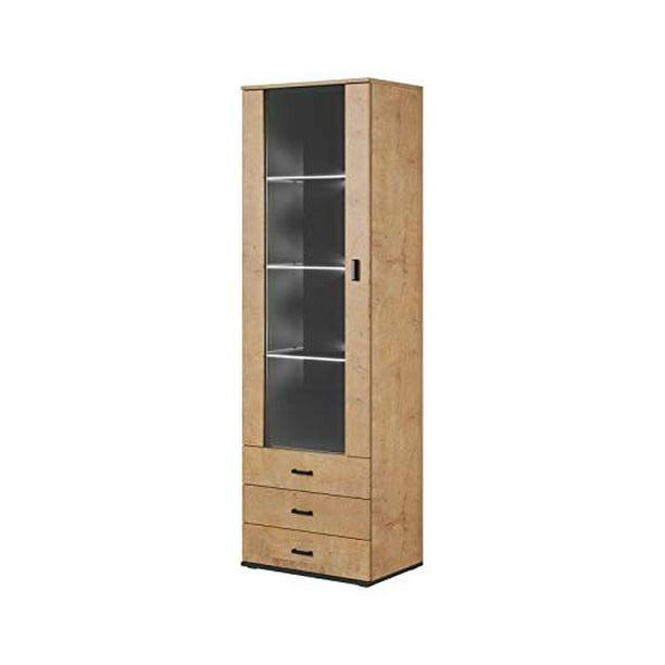 "Soho S1 1D3S Modular 1 Door Modern 24"" Wide Bookcase - Walmart.com"