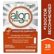 Align Probiotic Daily Digestive Health Supplement Capsules, 28 Ct