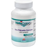NutriCology Saw Palmetto Complex with Lycopene - 60 Softgels