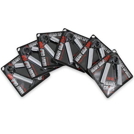 Heavy Grips Hand Grippers 6 Grip Set 100-350 lb Resistance
