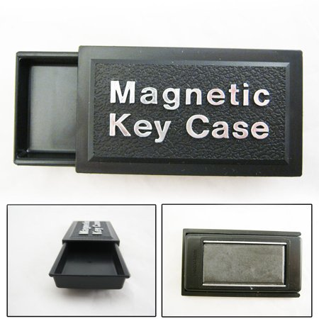 Magnetic Key Case Holder Sticks To Car Hide A Spare Key Storage Safe Hideakey