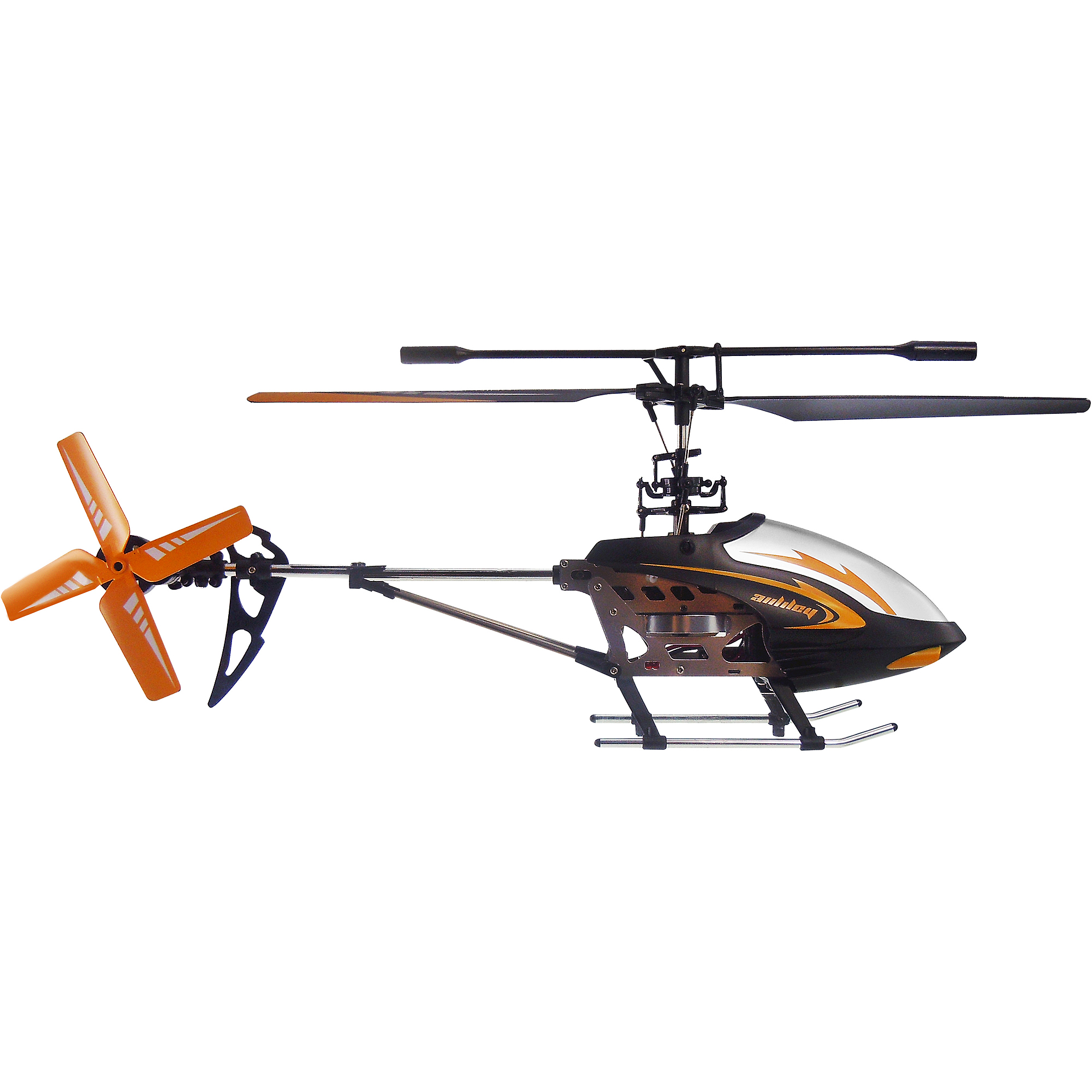 Auldey RC Phoenix 4-Channel Gyro Helicopter, Black