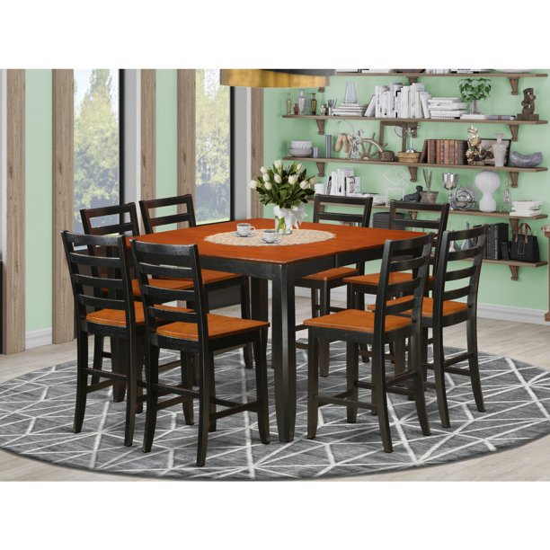 Counter Height Dining Set Square, Bar Height Dining Room Table